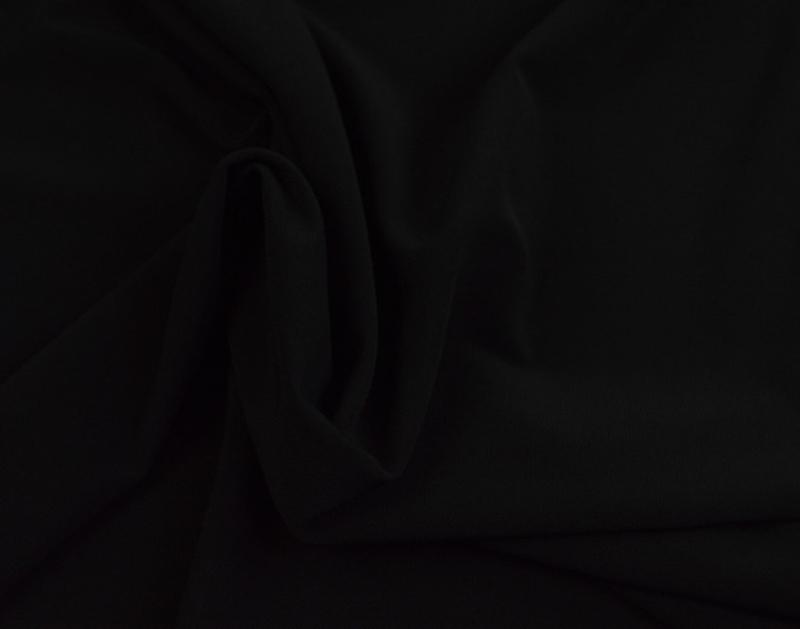 Lycra tule zwart