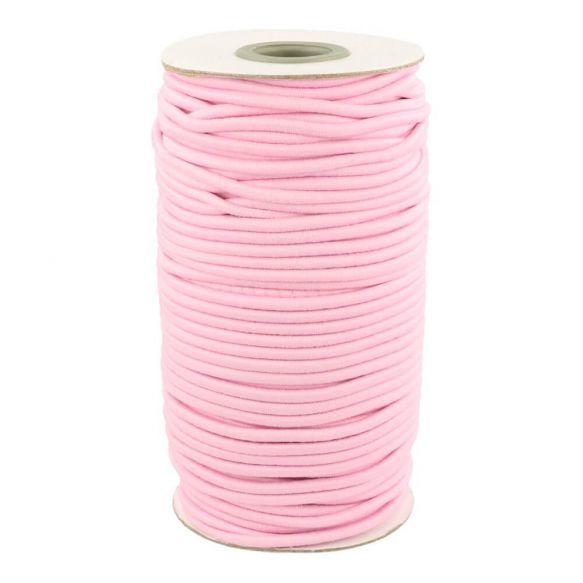Elastisch koord 3mm Roze