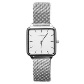 Zilveren Horloge Quartz