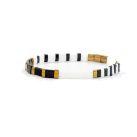Armband Summer Multicolor Zwart