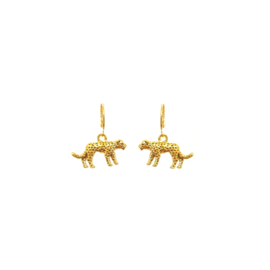 Earrings Leopard Charm Goud
