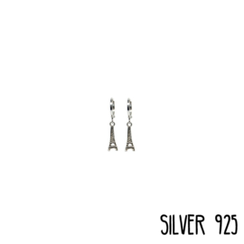 Earrings Eiffeltoren Zilver