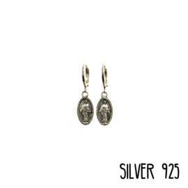 Earrings Jesus Gold/Silver