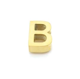 Gouden Ketting Letter B