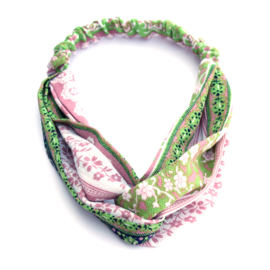 Headband Mixed  Green