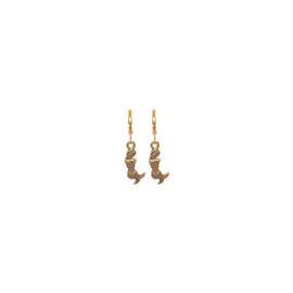 Earrings Zeemeermin Goud
