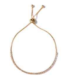 Gouden Armband Steentjes