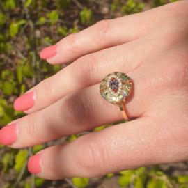 Regenboog Ring Big Eye