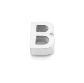 Zilveren Ketting Letter B