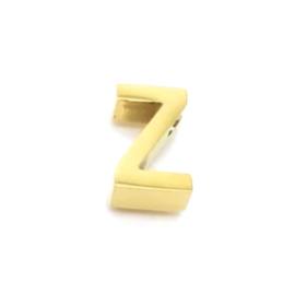 Gouden Ketting Letter Z