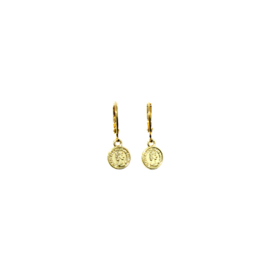 Earrings Little Coin Goud