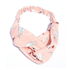 Headband Flamingo Pink