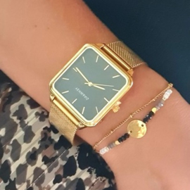 Gouden Horloge Quartz