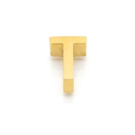 Gouden Ketting Letter T