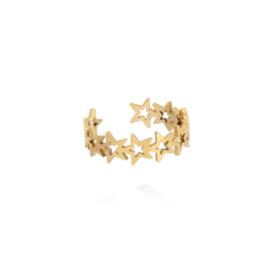 Gouden Ring Sterren