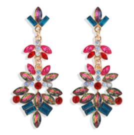 Statement Earrings Strass Luxe