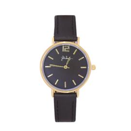 Zwart Horloge Chic