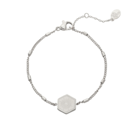 Armband Minimal Stalende ster Zilver