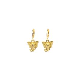 Gouden Oorringen Olifant