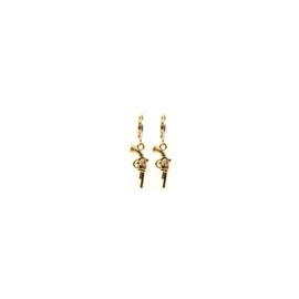 Earrings Gun Goud