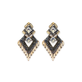 Statement Earrings Strass Chique