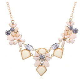 Statement Ketting Old Pink