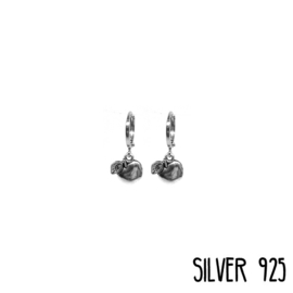 Earrings Appel Zilver