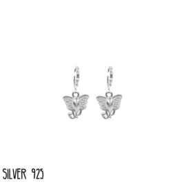 Zilveren Oorbellen Olifant