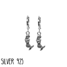 Earrings Zeemeermin Zilver