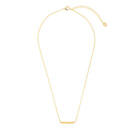 Gouden Ketting Beads Row Geel