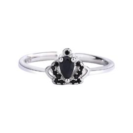 Zilveren Ring Queen