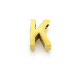 Gouden Ketting Letter K