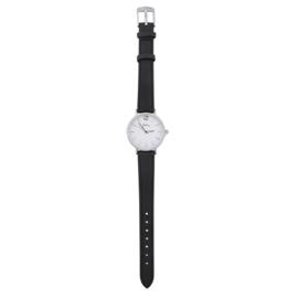 Zwart Horloge Rond