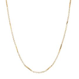 Korte ketting basic bar goud