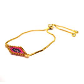 Bracelet Weave Pink