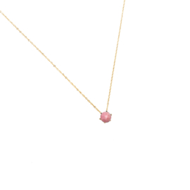 Gouden Ketting Little Pink