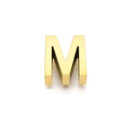 Gouden Ketting Letter M