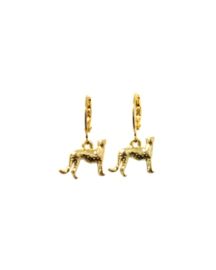 Earrings Little Leopard Goud