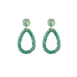 Statement Oorbellen Chique Green