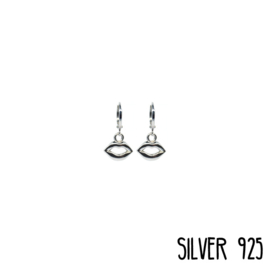 Earrings Lips Zilver