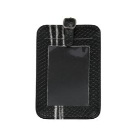Kofferlabel Marble Zwart