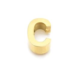 Gouden Ketting Letter C
