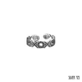 Zilveren Ring XOXO