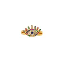 Regenboog Ring Eye