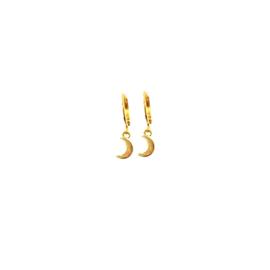 Earrings Little Moon Goud