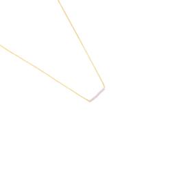Gouden Ketting Beads Row Roze