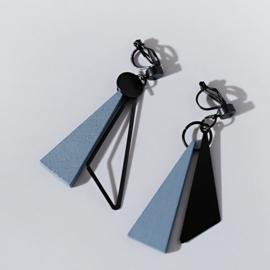 Clip oorbellen Geometrisch