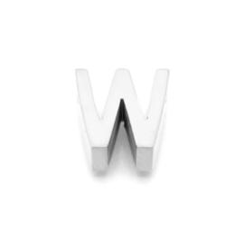 Zilveren Ketting Letter W