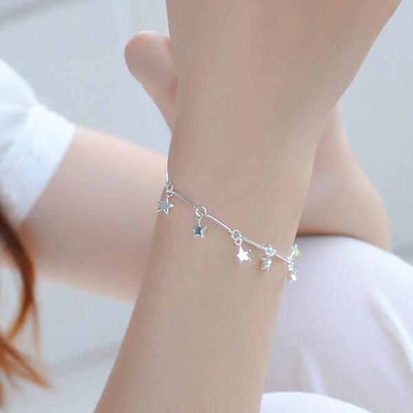 Armband Sterren Zilver 925