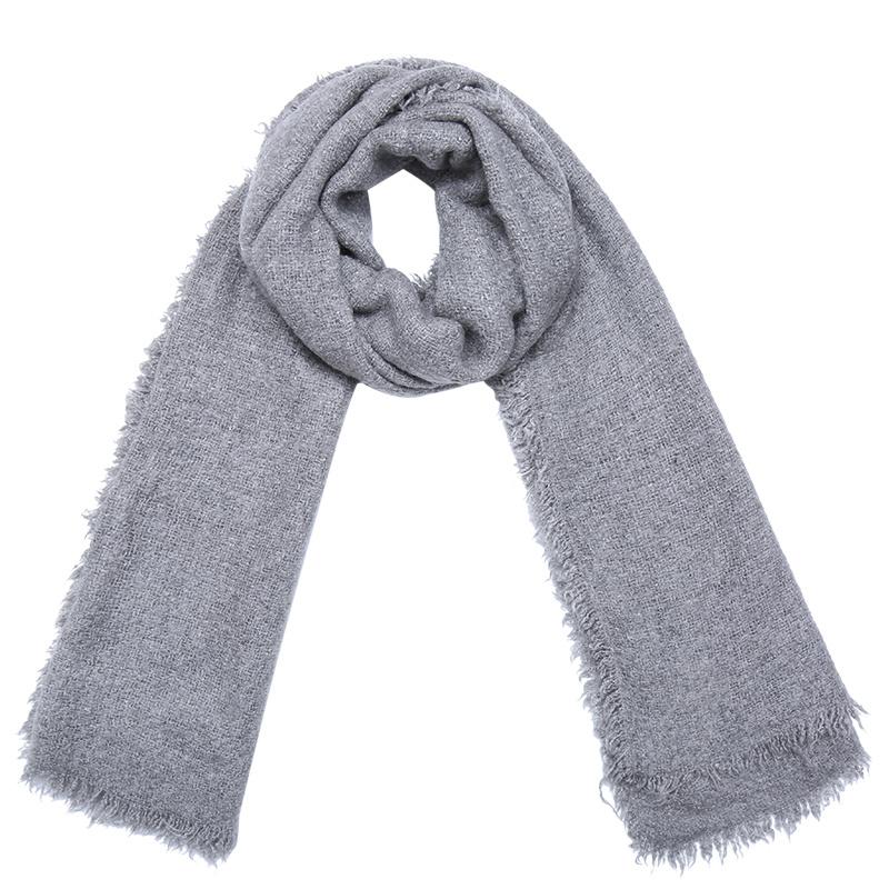 Sjaal Preppy Colors Grey